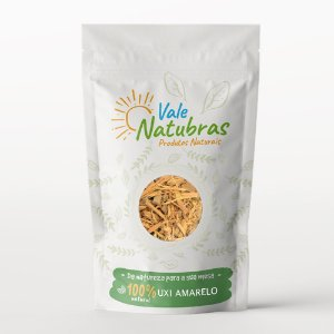Chá de Uxi Amarelo - Endopleura uchi (Huber) Cuatrec - 30g - Vale Natubras