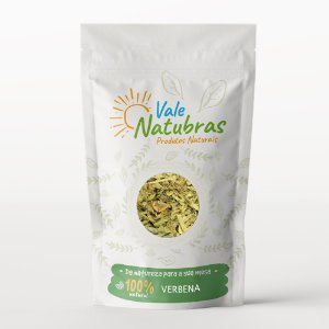 Chá de Verbena - Verbena officinalis L. 20g - Vale Natubras