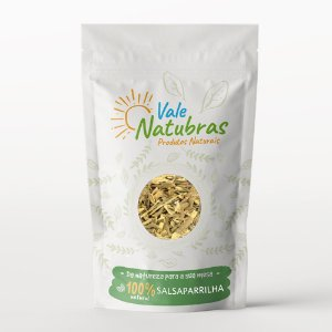Chá de Salsaparrilha - Smilax spp 30g - Vale Natubras