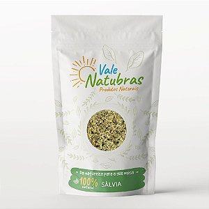 Chá de Sálvia - Salvia officinalis - L. 30g - Vale Natubras