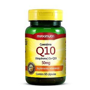 Coenzima Q10 50mg 60 caps - Maxinutri