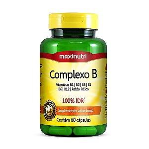 Complexo B 60 caps - Maxinutri