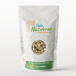 Chá de Oliveira - Olea europaea L. 20g - Vale Natubras