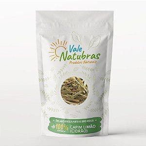Chá de Capim Limão (Cidrão) - Cymbopogon citratus Stapf - 30 - Vale Natubras