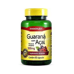Guaraná com Açaí 60 caps - Maxinutri