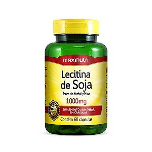 Lecitina de Soja 60 caps - Maxinutri