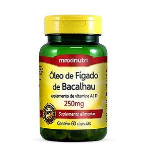 Óleo de Fígado de Bacalhau 60 caps - Maxinutri
