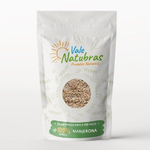 Chá de Manjerona - Origanum majorana - L. 30g - Vale Natubras