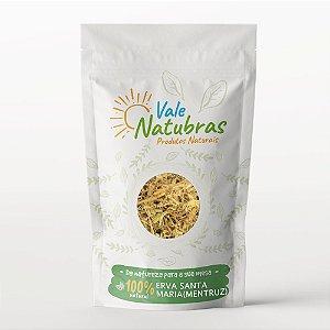 Chá de Erva de Santa Maria (Mentruz) - Chenopodium ambrosioides 30g - Vale Natubras