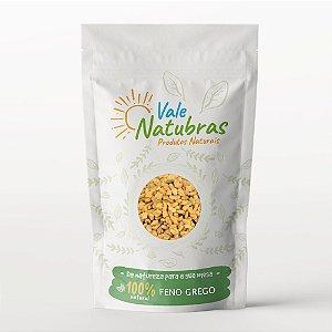 Feno Grego - Trigonella foenum-graecum 100g - Vale Natubras