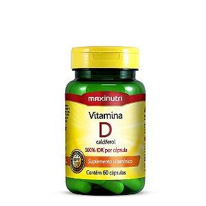 Vitamina D 100% IDR 60 caps - Maxinutri