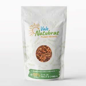 Chá de Maçã & Canela 100g - Vale Natubras