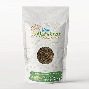 Chá de Cravo Da Índia Em Flôr - Syzygium aromaticum - 30g - Vale Natubras
