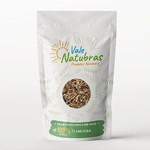 Chá de Damiana - Turnera diffusa - Will. 30g - Vale Natubras