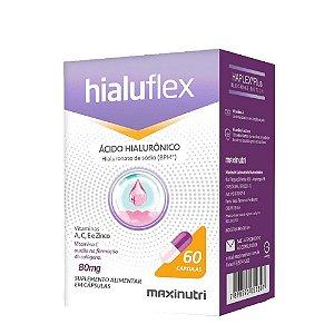 Hialuflex (ácido hialurônico) 60 caps 80mg - Maxinutri