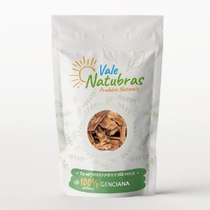 Chá de Genciana - Gentiana lutea - L. 30g - Vale Natubras