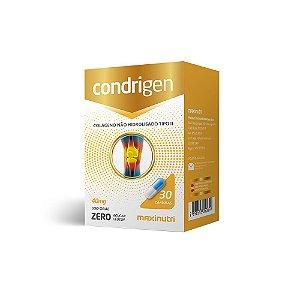 Condrigen ( Colágeno tipo II) 40mg 30 Caps - Maxinutri