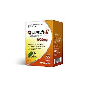 Ascorvit C 60 caps - Maxinutri