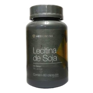 Lecitina de Soja 500mg - 60 Caps