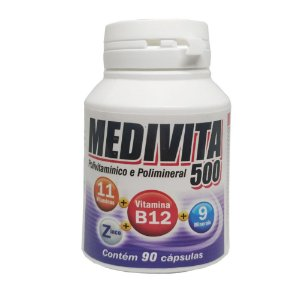 Medivita 500 Mediervas - 90 Caps