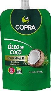 ÓLEO DE COCO POUCH EXTRAVIRGEM 100ML COPRA
