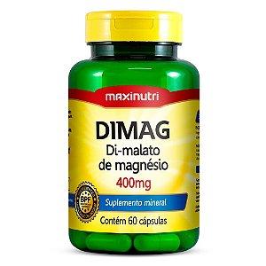 Dimag Di- Malato de Magnésio 60 caps - Maxinutri