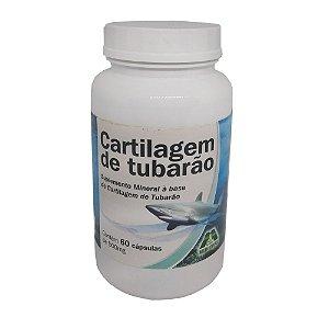 Cartilagem de Tubarão 500mg - 60 Caps