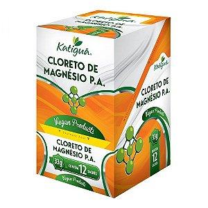 Cloreto De Magnésio P.A. Display com 12 Sachês de 33g - Katiguá