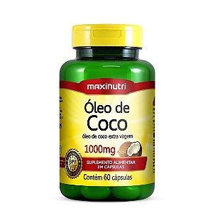 Óleo de Coco 60 caps - Maxinutri
