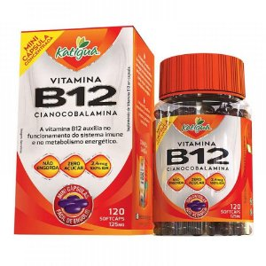 Vitamina B12 120 mini caps - Katigua