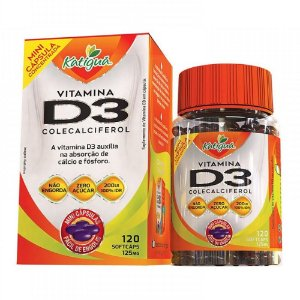 Vitamina D3 120 mini caps - Katigua