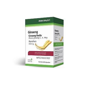 Ginseng (Panax Ginseng C. A. Mey.) 60 caps - Maxinutri