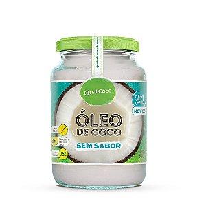 Óleo de Coco Sem Sabor 500ml - Qualicoco