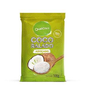 Coco Ralado Adoçado 100g - Qualicoco