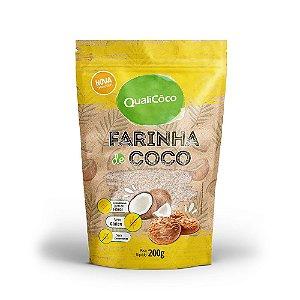 Farinha de Coco 200g - Qualicoco