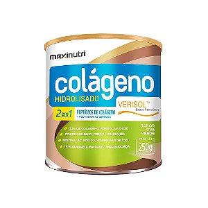 Colágeno Hidrolisado 2 em 1 Verisol Uva Verde 250g - Maxinutri