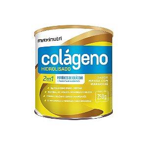 Colágeno Hidrolisado 2em1 Manga e Maracujá 250g - Maxinutri