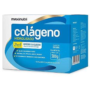 Colágeno Hidrolisado Original 2em1 30x10g- Maxinutri