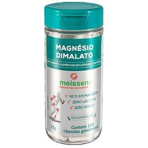 Magnésio Dimalato  120 cápsulas - Meissen