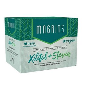 Magrins Xilitol + Stevia 50x0,6 - Stevia Soul