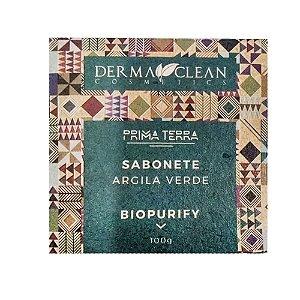 Sabonete de Argila Verde 100g - Derma Clean