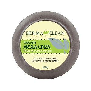 Sabonete de Argila Cinza 110g - Derma Clean