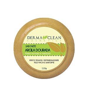 Sabonete de Argila Dourada 110g - Derma Clean