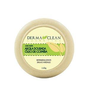 Sabonete de Argila Dourada com Copaíba 110g - Derma Clean