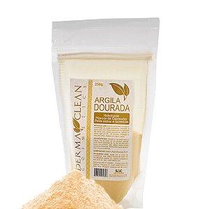 Argila Dourada em Pó 250g - Derma Clean