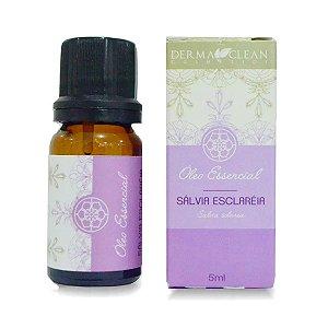 Óleo essencial de Sálvia Esclaréia 5ml - Derma Clean