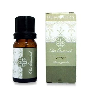 Óleo essencial de Vetiver 5ml - Derma Clean