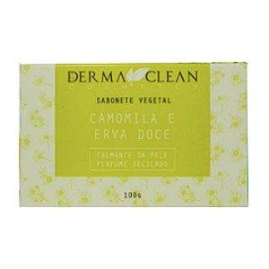 Sabonete de Camomila e Erva Doce 100g - Derma Clean