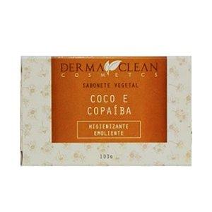 Sabonete de Coco e Copaíba 100g - Derma Clean