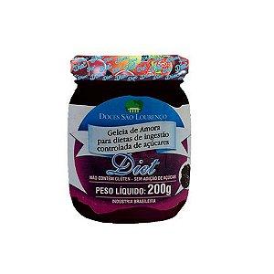 Geleia de Amora Diet 200g - Doces São Lourenço